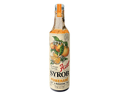 Kitl Syrob Pomaranč s dužinou 500ml