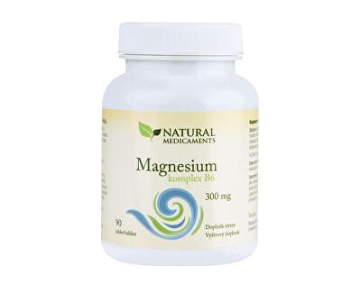 Magnesium ( horčík ) B6 komplex 90 tablet