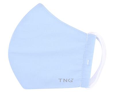 TNG rúško textilné 3-vrstvová vel. M modrá