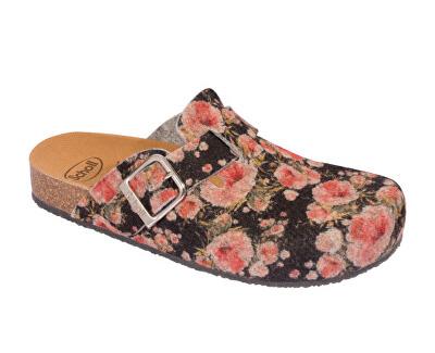 Zdravotní obuv - GREENY ROSE - Black/Multi