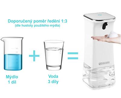 Bezdotykový dávkovač mydlovej peny MSH001 350 ml