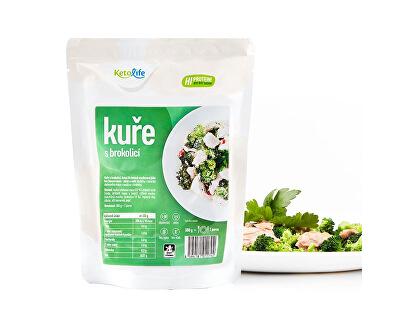 Hotové jedlo - Kurča s brokolicou - 1 porcia