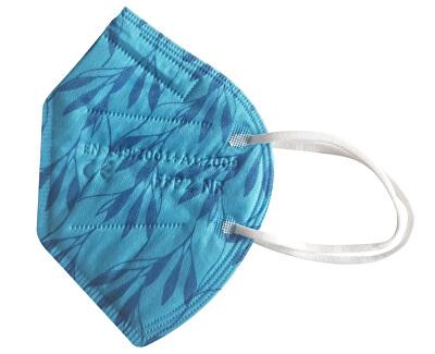 Nano respirátor FFP2 - světle modrý