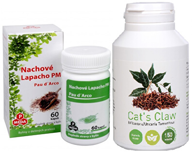 Cat´s Claw + Nachové lapacho PM (Pau d´Arco)