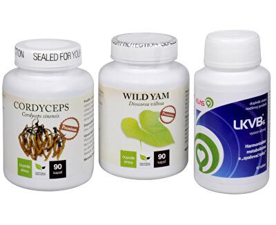 Cordyceps Premium + LKVB6 + Wild Yam Premium