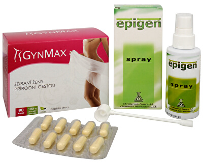 Na Ženské pohlavní orgány - Epigen Intimo 60 ml + Gynmax 90 kapslí