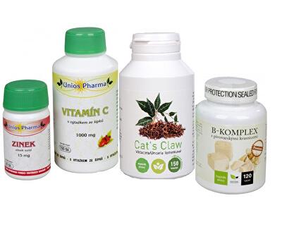 Pe piele - Cat de Premium Claw + B-complex + C 1000 Vitamina cu hip-Zinc GRATUIT