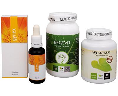 Na Menstruaci - Regevit + Gynex + Wild Yam Premium