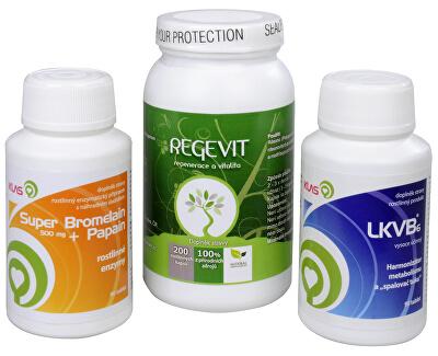 Regevit + Super Bromelain + Papain + LKVB6