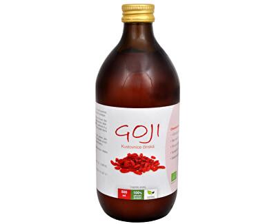 Goji Kustovnice čínská - 100% Bio šťáva 500 ml - SLEVA - poškozená etiketa