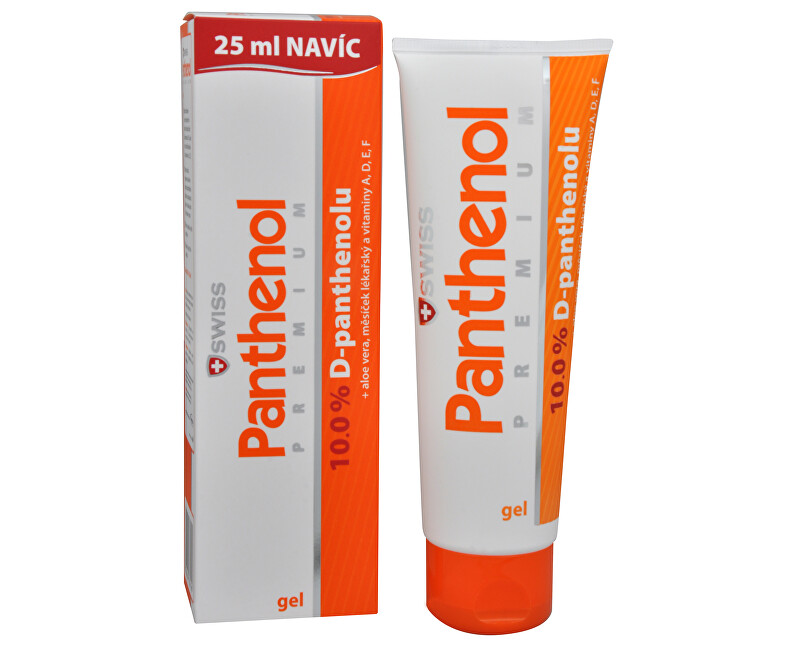 Simply You Panthenol 10% Swiss PREMIUM - gel 100 ml  25 ml ZDARMA