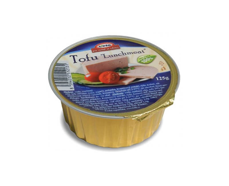 Veto Eco Tofu lunchmeat ALU 125 g