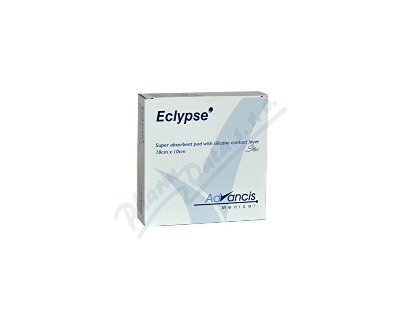 ADVANCIS MEDICAL Eclypse 10x10cm krytí superabsorpční 20ks