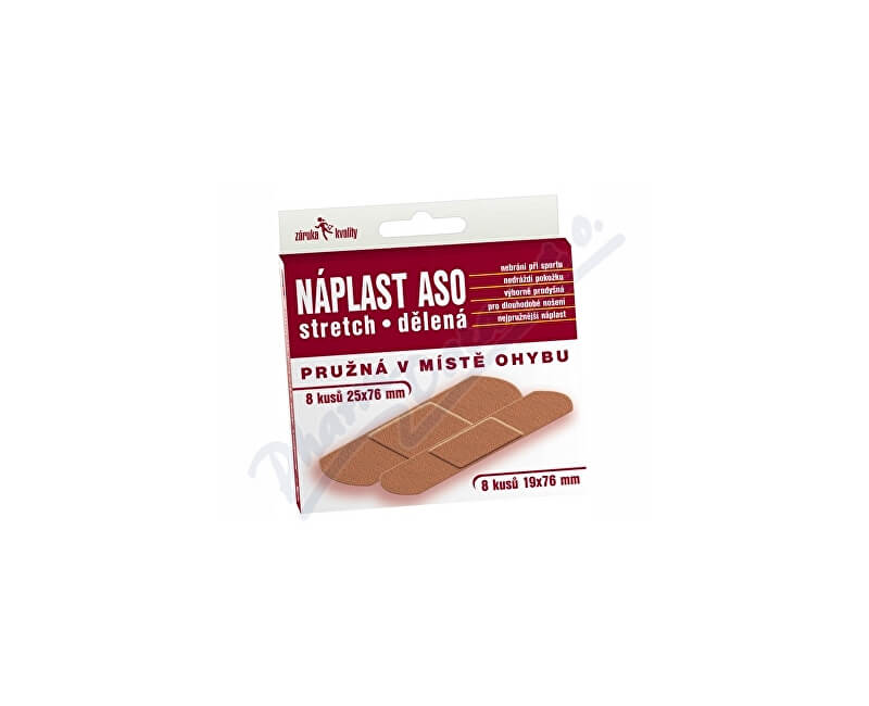 ASO PHILIPPINES INC. Náplast ASO stretch MIX 16ks