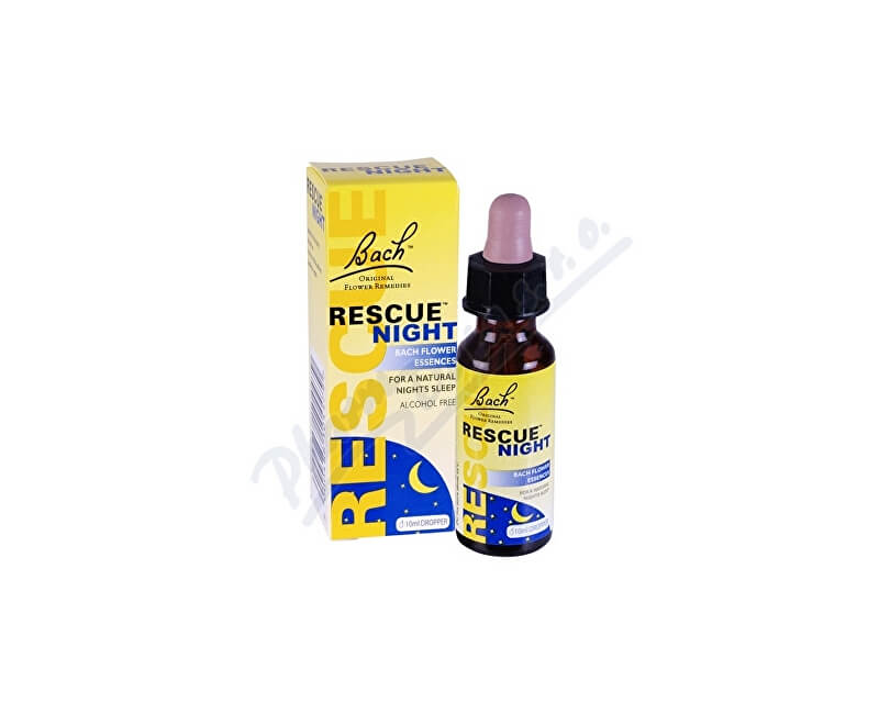 BACH FLOWER REMEDIES RESCUE Night kapky na spaní 10ml