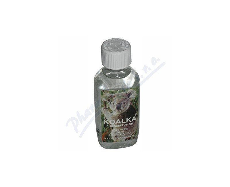 BRONSON AND JACOBS PTY.LTD. Koalka eukalyptus oil 100% pure 50ml (Koala)