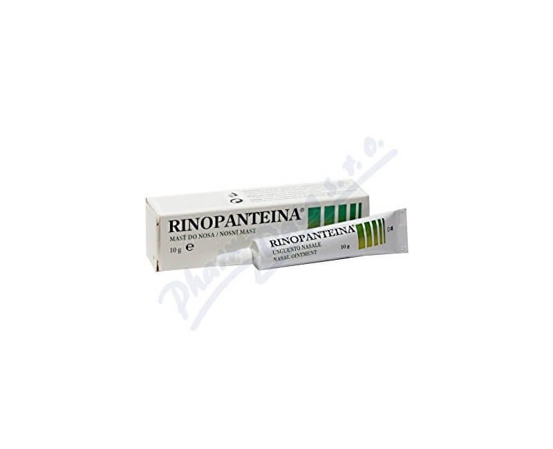 DRUGS MINERALS AND GENERICS ITALIA S.R.L. Rinopanteina nosní mast 10g