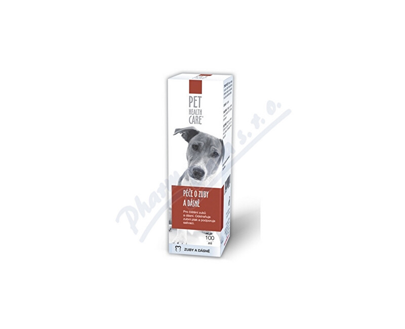 FARMACIA CARE s.r.o. PET HEALTH CARE Péče o zuby a dásně 100ml