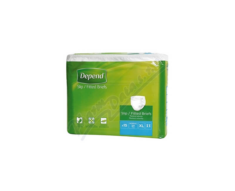 KIMBERLY-CLARK - KLEENEX Inkont.kalh.abs.prodyš.DEPEND Slip Normal XL/15ks