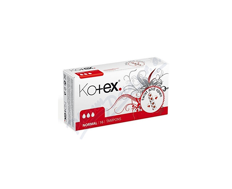 KIMBERLY-CLARK - KLEENEX KOTEX Tampony Normal 16ks
