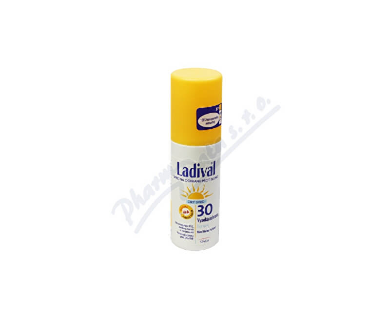 STADA ARZNEIMITTEL AG, BAD VILBEL LADIVAL OF30 spray ochrana proti slunci 150ml
