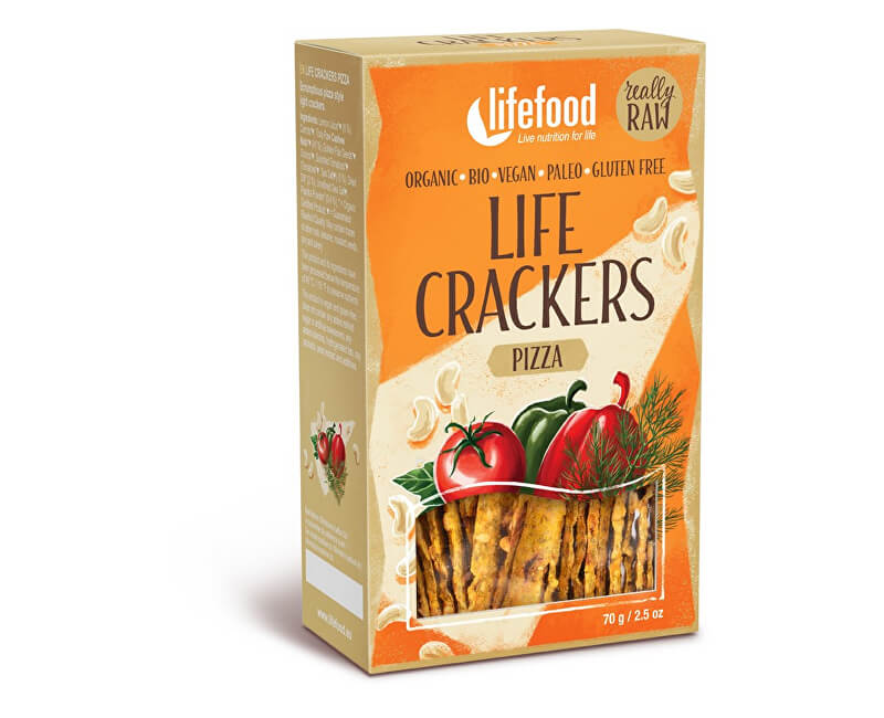 Lifefood LIFE CRACKERS á la pizza 70g