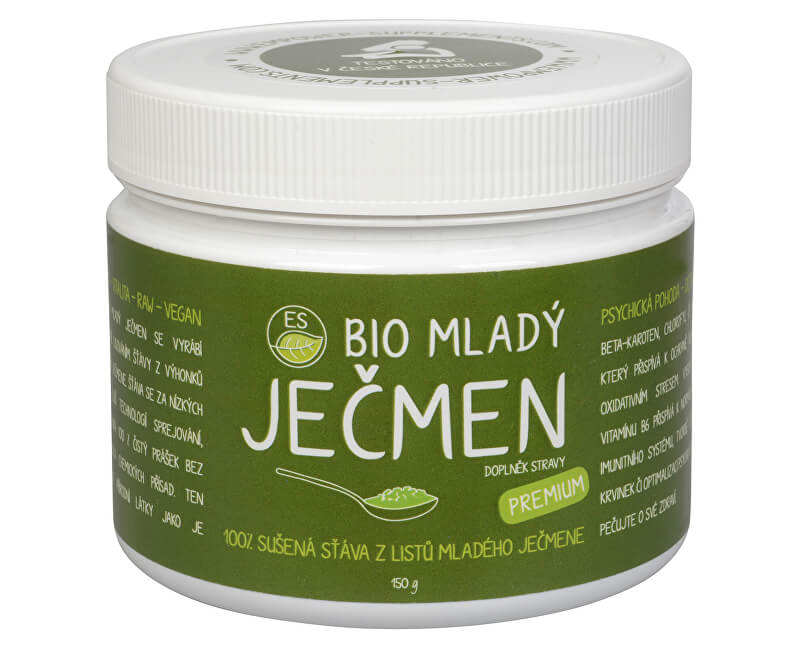 Empower Supplements ES BIO Mladý ječmen Premium 150 g