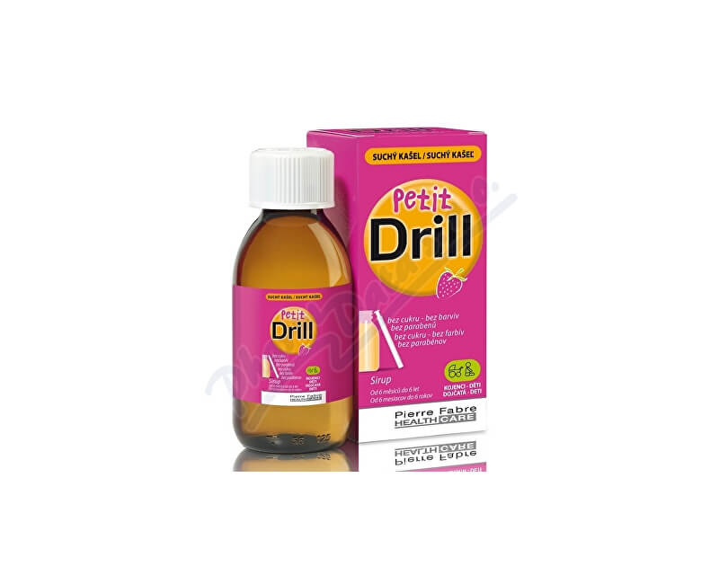 PIERRE FABRE MEDICAL DEVICES Petit Drill Sirup na suchý kašel 125ml