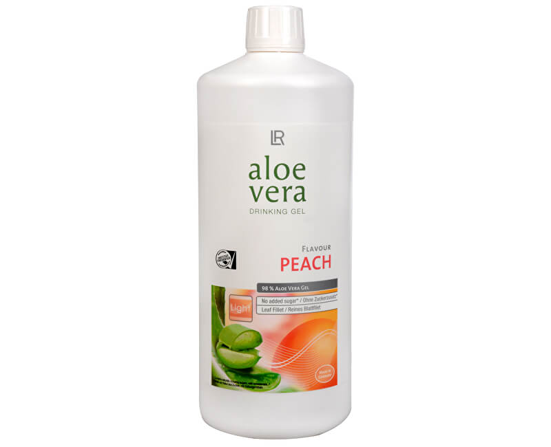 LR health & beauty Aloe Vera Drinking gel s příchutí broskví 1 l