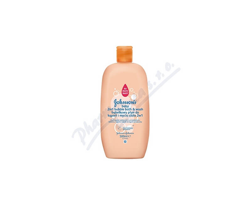 Johnson & Johnson JOHNSONS Baby bubl. koupel a mycí gel 2v1 500 ml