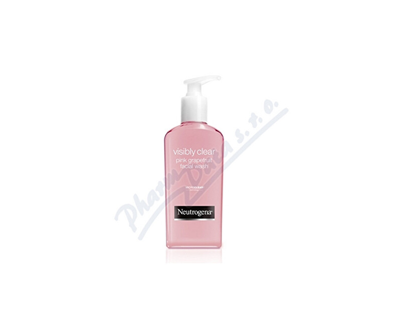 Johnson & Johnson Neutrogena Visibly Clear Pink Grap. emulze 200ml