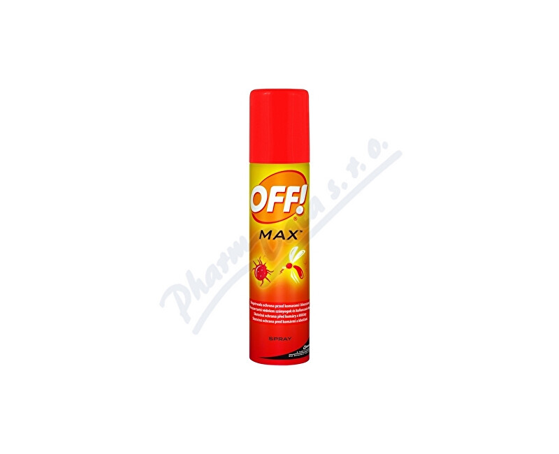 Johnson & Johnson OFF! Max spray 100ml