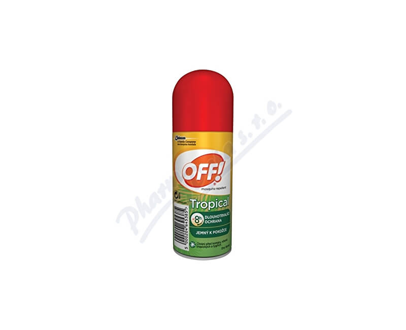 Johnson & Johnson OFF Tropical sprej 100ml