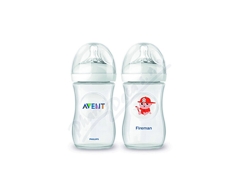 PHILIPS AVENT AVENT Láhev Natural PP 260ml + Hasič