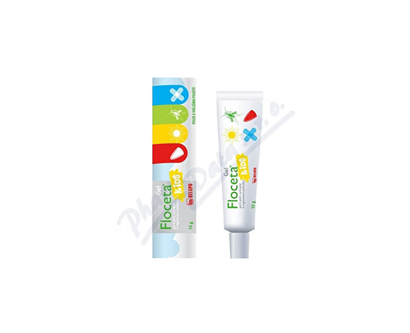BELUPO PHARMACEUTICALS & COSMETICS LTD., KOPRIVNIC Floceta Kids gel 15g