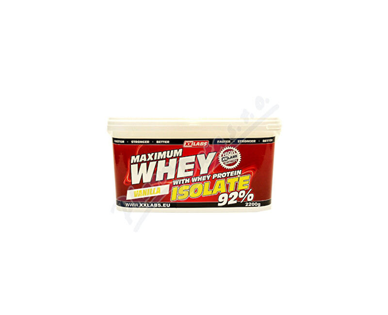A1 SOLUTION, s.r.o., Mělník Maximum Whey Protein Isolate 92 2200g vanilka