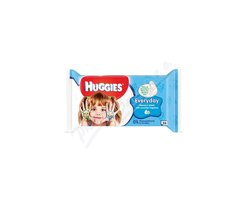 KIMBERLY-CLARK - KLEENEX HUGGIES Travel Pack 24ks