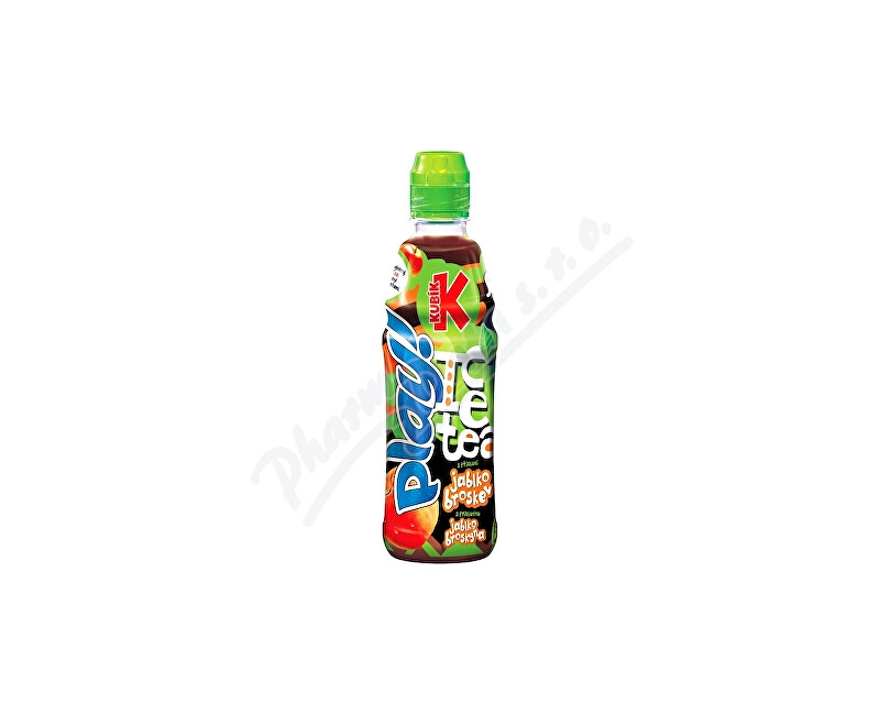 MASPEX Kubík Play ice tea jablko-broskev 400ml PET