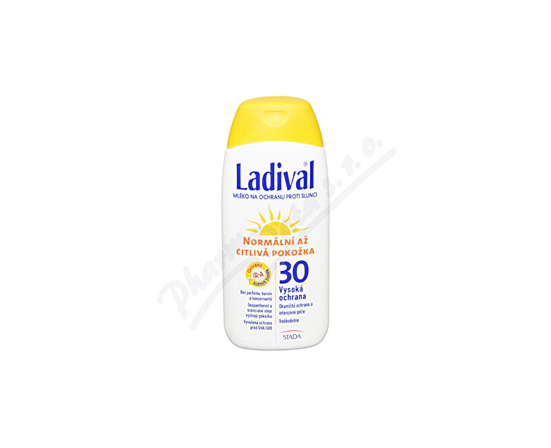 STADA ARZNEIMITTEL AG, BAD VILBEL LADIVAL OF30 lotion norm.až citl.kůže 200ml