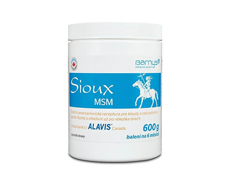 Barny´s Sioux MSM 600 g