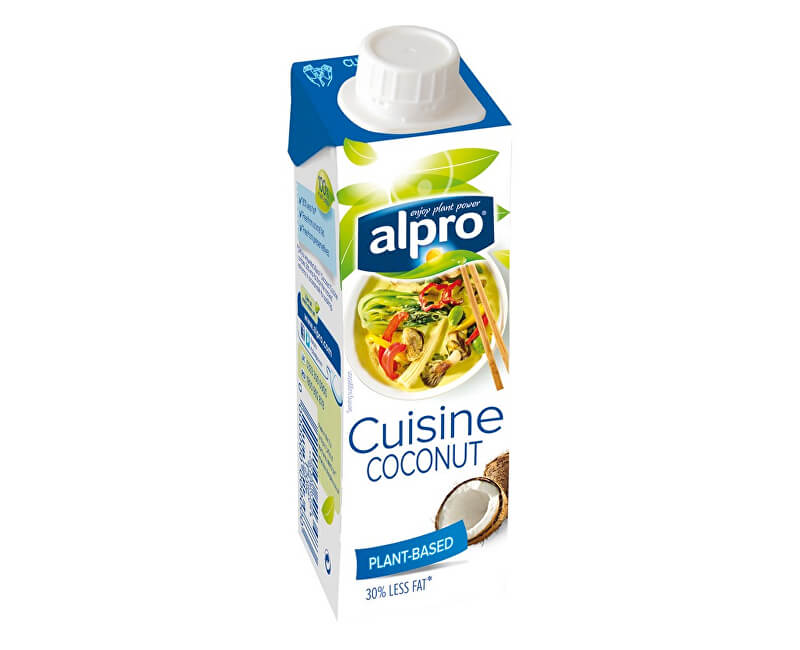 Alpro Coconut Cuisine - kokosová alternativa ke smetaně 250ml