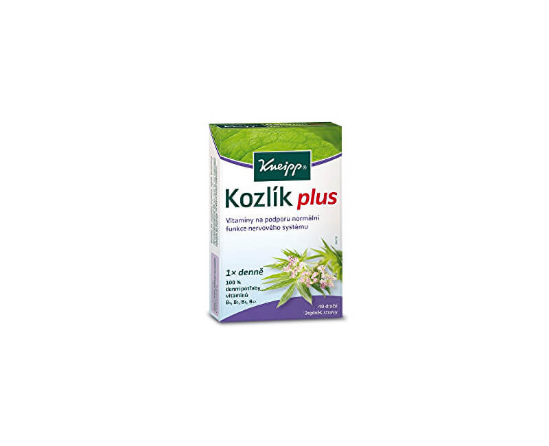 Kneipp® Kozlík plus 40 tablet