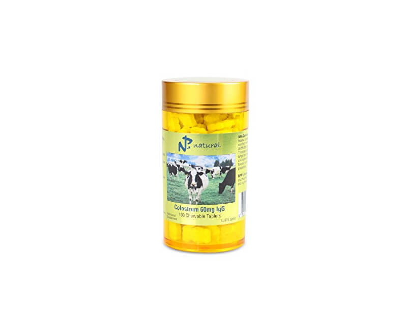 Australian Remedy Colostrum 60mg IgG 100 žvýkacích tablet