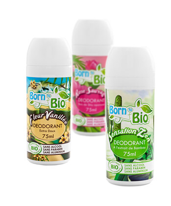 Born to BIO deodoranty